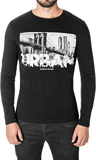 MOD1034RN MODERNO New York NYC Graphic T-Shirt for Men