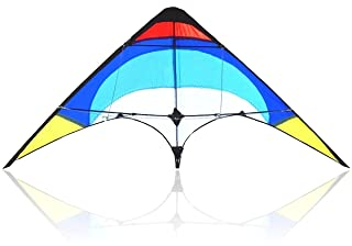 Bee-Kite Easy Stunt - Aquilone Acrobatico Delta 2 cavi 135x65 cm. Straps