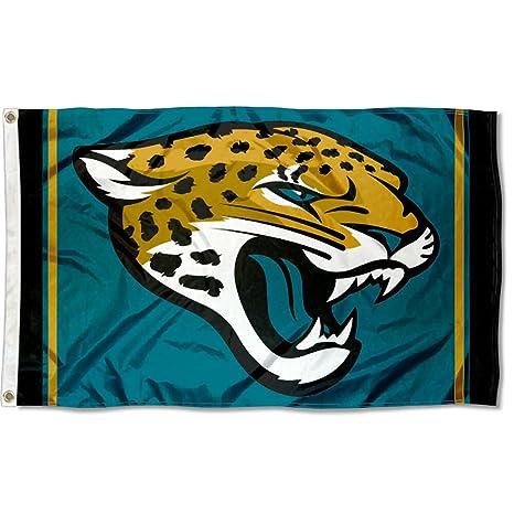 amazon com wincraft jacksonville jaguars large nfl 3x5 flag