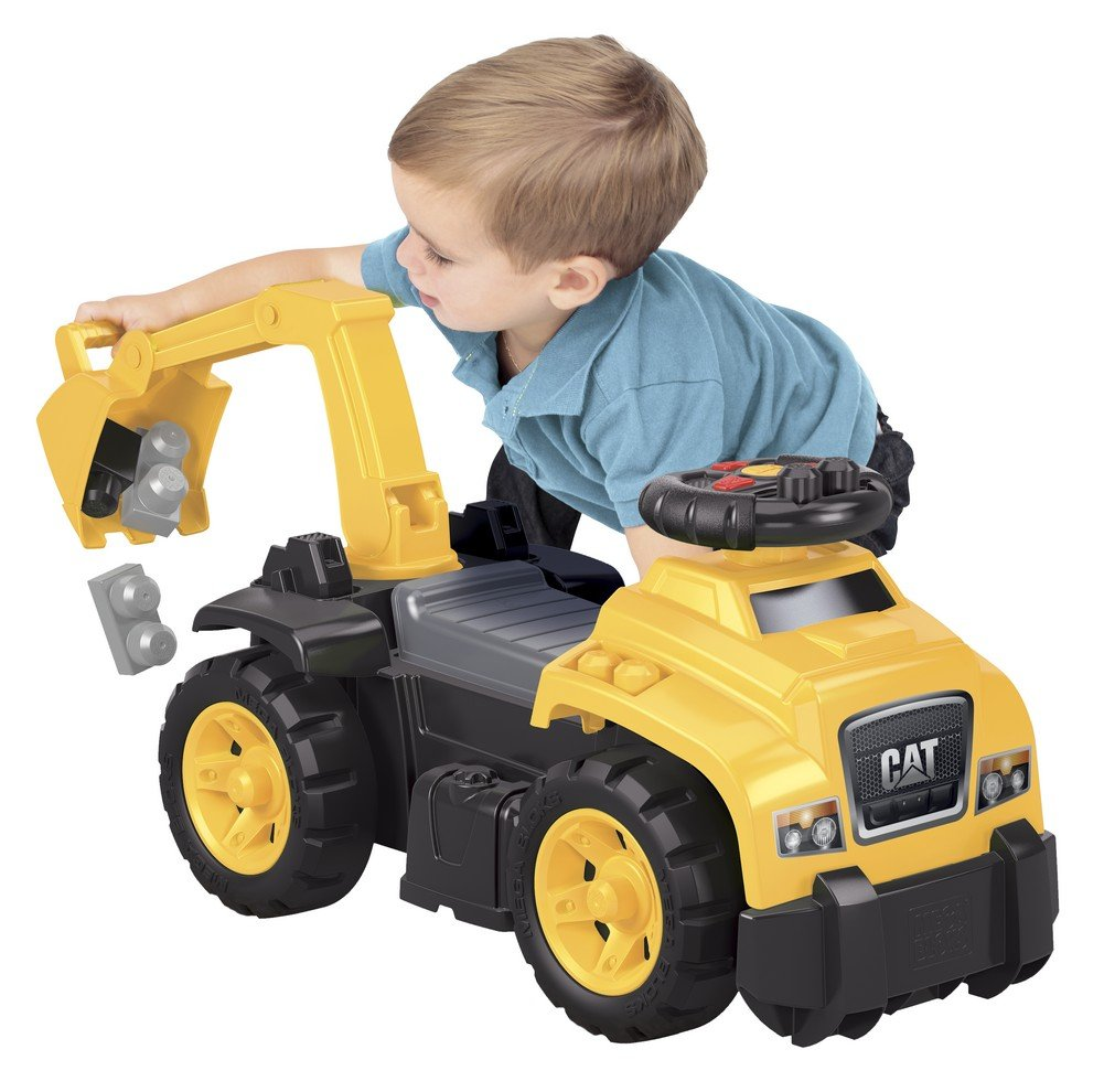 toddler scoot kid riding truck toy box ride on caterpillar excavator fun digging ebay. Black Bedroom Furniture Sets. Home Design Ideas