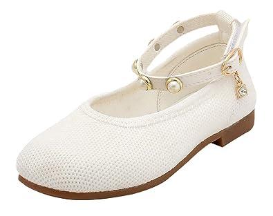 b8beb7dd419a1 GEMVIE Chaussure en Maille Respirant pour Enfant Fille Princesse Élégant  Sandale Antidérapant Ballerine Printemps Automne Scratch