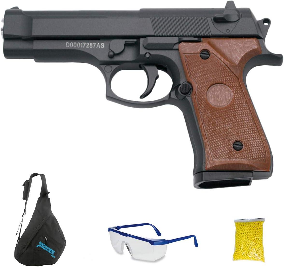 Galaxy G22 (6mm - Pistola de Airsoft Calibre 6mm (Arma Aire Suave de Bolas de plástico o PVC). Sistema: Muelle. <3,5J
