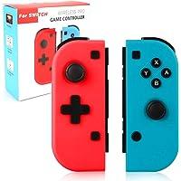 Wireless Controller für Nintendo Switch,Powcan 2er-Set Links Rechts Kabelloser Bluetooth Gamepad Controller,Pro Game Controller Gamepad Joypad Joystick Kompatibel mit Nintendo Switch
