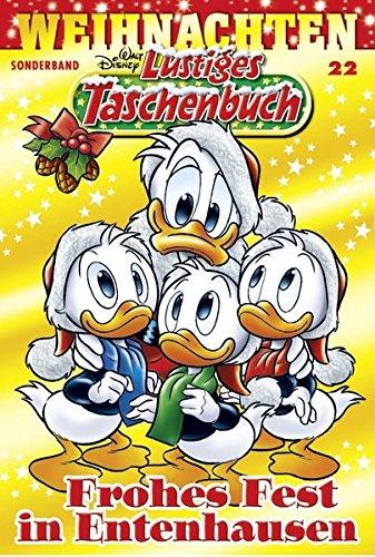 Lustiges Taschenbuch Weihnachten 22: Frohes Fest in Entenhausen Taschenbuch – 3. November 2016 Disney Egmont Ehapa Media 3841328229 Comic