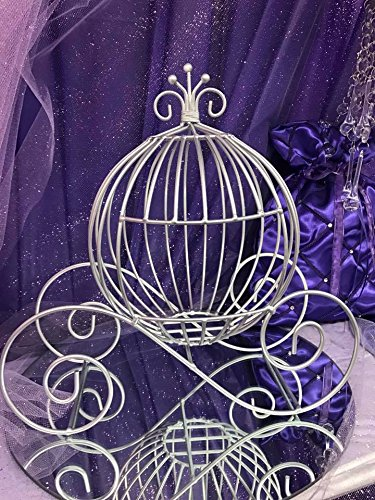 wire baby carriage centerpiece - 6