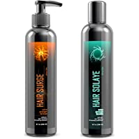 Ultrax Labs Hair Surge Hair Solaye | Hair Growth Shampoo and Conditioner for Thinning Hair & Hair Thickening with…