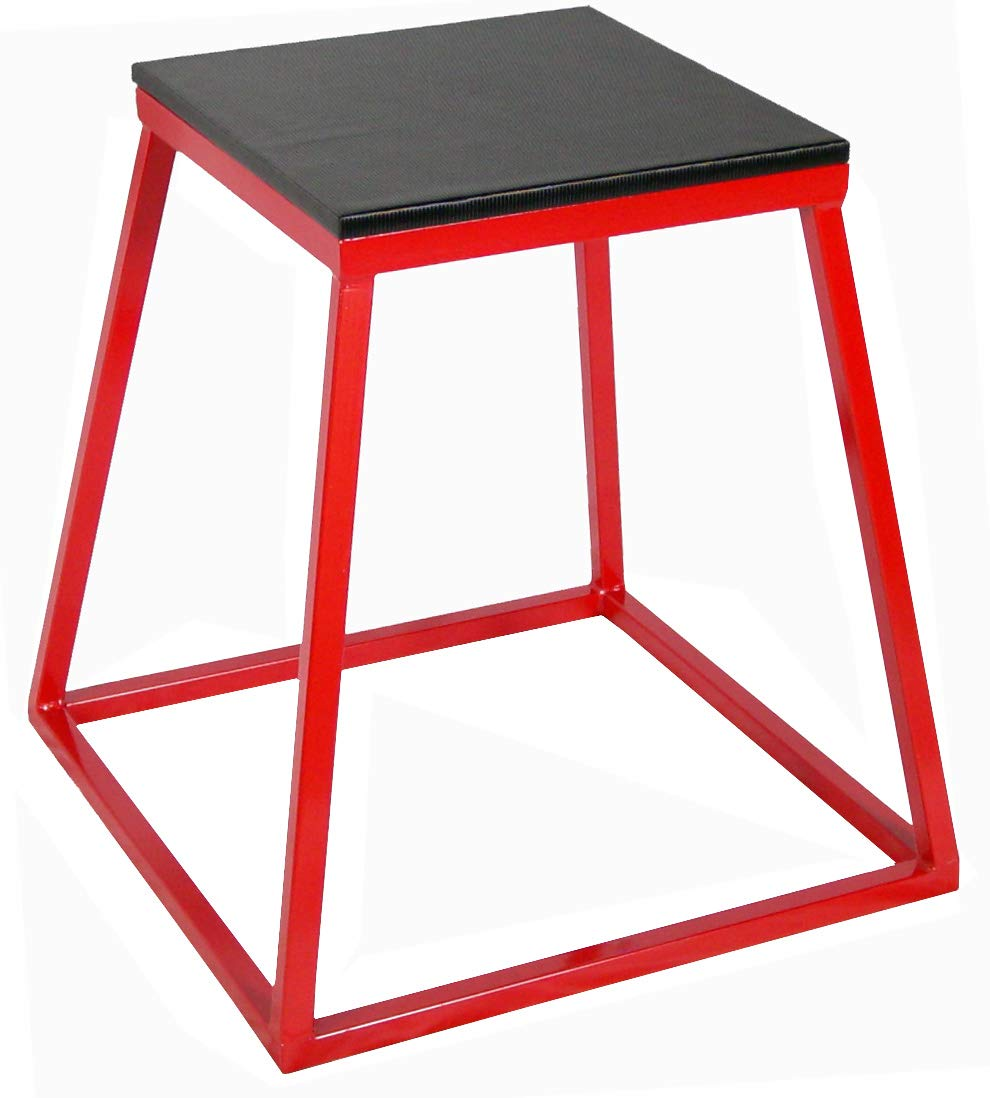 Ader Sports Red Plyometric Platform Box (24'' Red)