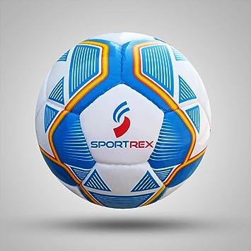 Sportrex Balón de fútbol Profesional de Calidad Suprema, tamaño 5 ...