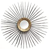 Stratton Home Decor Vanessa Wall Mirror, Gold