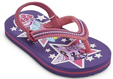 15badebe51fd Image Unavailable. Image not available for. Color  Pelanpolo International My  Little Pony Girl Flip Flop Beach ...