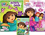 Dora the Explorer Activity Book with Over 30 Stickers and Reward Sticker Book With Over 100 Stickers Plus Dora and Friends Activity Book with Over 30 Stickers