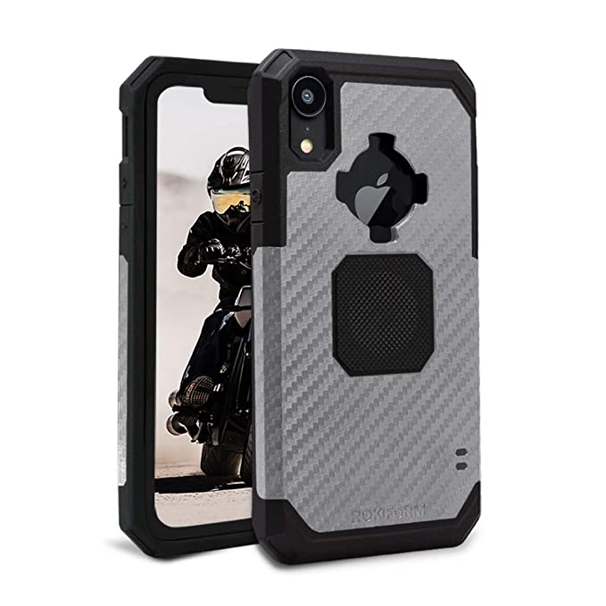 premium selection 5fc4b 948e2 Rokform Rugged [iPhone XR] Military Grade Magnetic Protective Case with  Twist Lock- Gun Metal