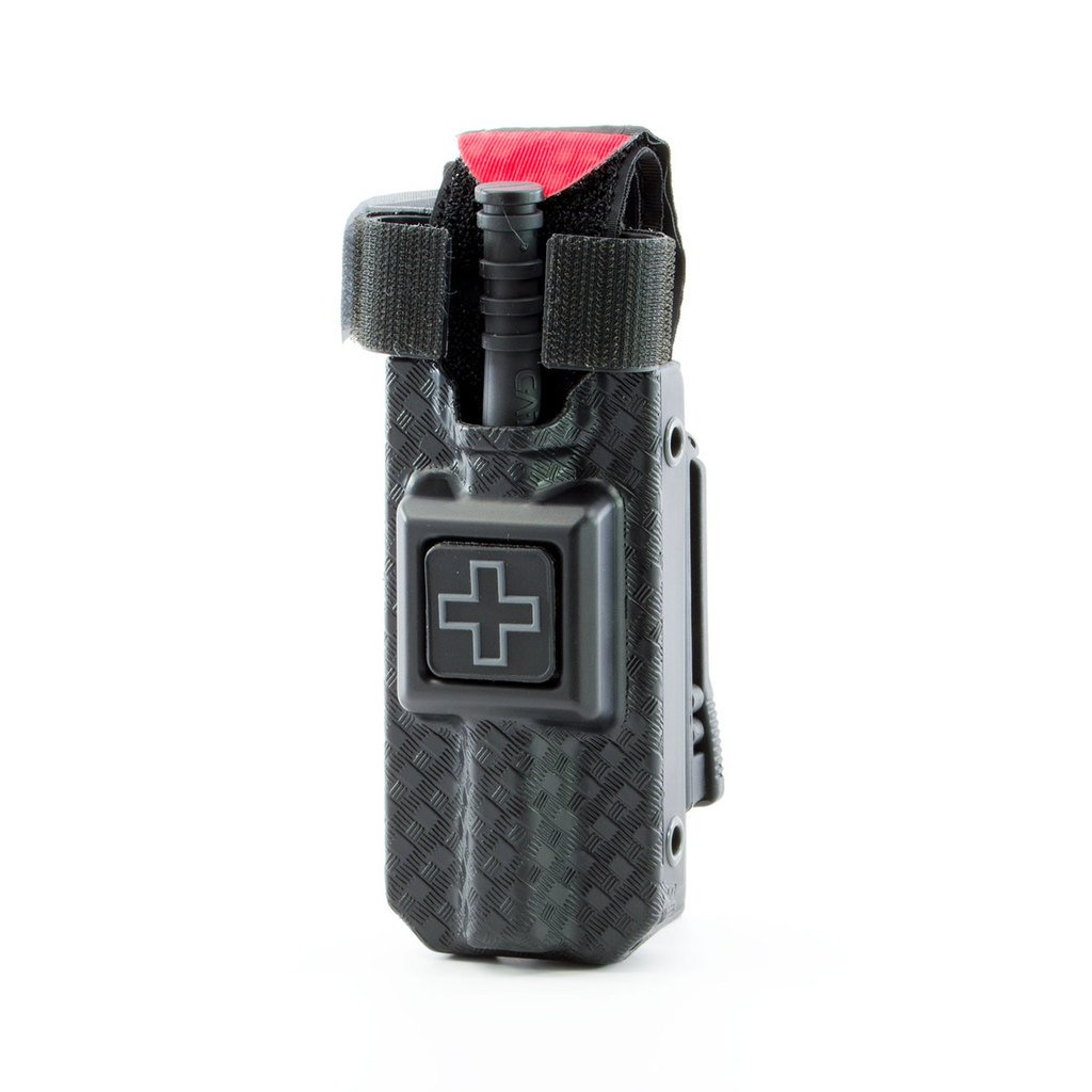 RIGID TQ Case for Generation 7 C-A-T Tourniquet, Belt (Tek-Lok) Attachment. Fits Generation 7 and Previous Versions of the CAT Tourniquet