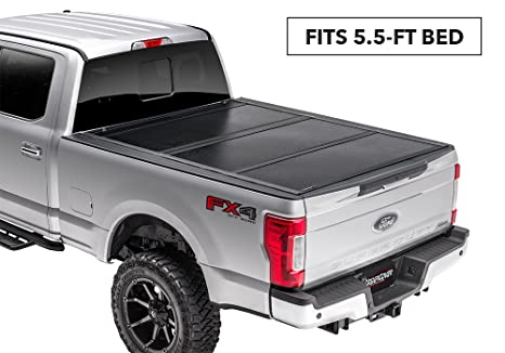 Ford F150 Hard Bed Cover >> Undercover Flex Hard Folding Truck Bed Tonneau Cover Fx21019 Fits 2015 2019 Ford F 150 5 5ft Short Bed Ext Crew