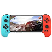 OFF Mobile Game Controller, Wireless Key Mapping Gaming Controller Telescopic Gamepad Joystick Compatible with PUBG Fotnite Shooting Racing Fighting Sport Game, for Android IOS