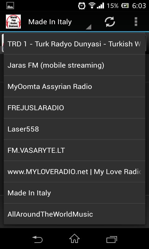 World Pop Radio Stations: Amazon.es: Appstore para Android