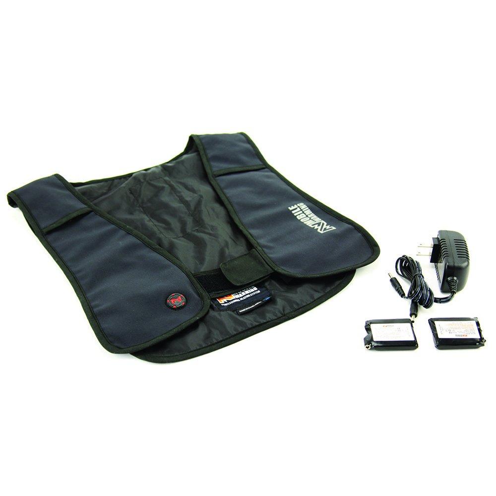Mobile Warming Unisex-Adult Thawdaddy Heated 7.4 Vest (Black, Small/Medium)