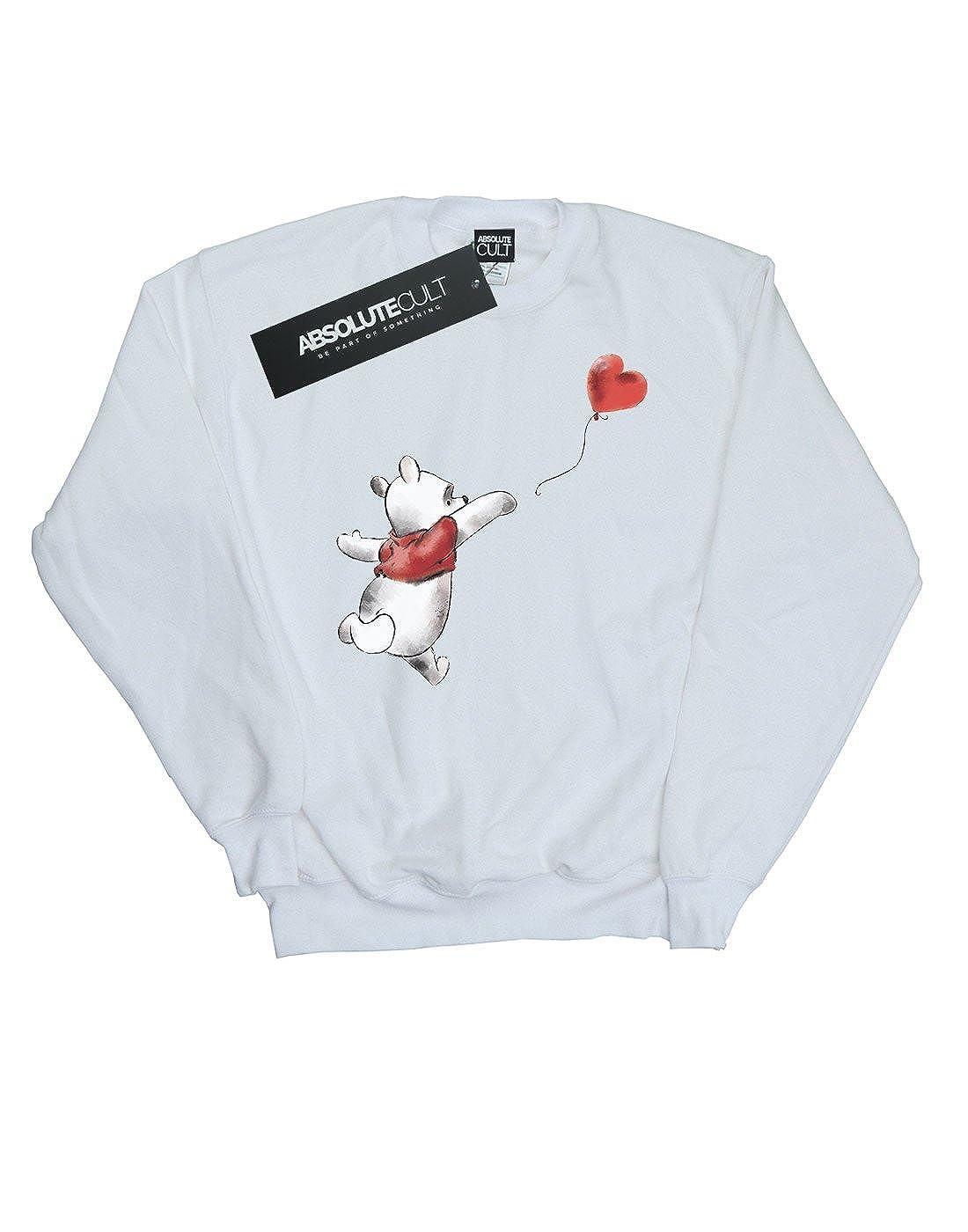 Disney Girls Winnie The Pooh Balloon Sweatshirt
