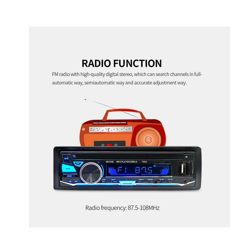 amazon com boomboost 12v 7003 bluetooth in dish car automagnitolamazon com boomboost 12v 7003 bluetooth in dish car automagnitol radio cassette recorder one din stereo audio player automotive