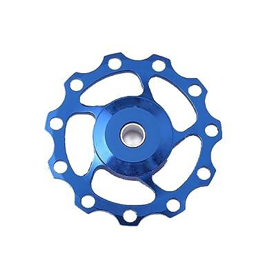 1ps 11T Dérailleur arrière de vélo en aluminium de roue pour vélo de route Guide