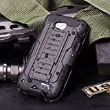 LG Optimus L70 Armor Case, FRKJ Heavy Duty Case Cover For LG Optimus L70 D325 Full-body Rugged Dual Layer Robot Case