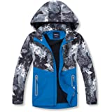 Simplee kids Boys' Hooded Jackets Child Lightweight Waterproof Coat Outwear Fall Winter Clothes for 4-11 Years