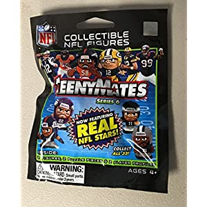 Unopened Pack NFL Teenymates Series 6 Collectible NFL Figures