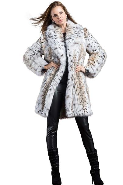 Amazon.com: Zandra Rhodes - Abrigo de pelo para mujer ...