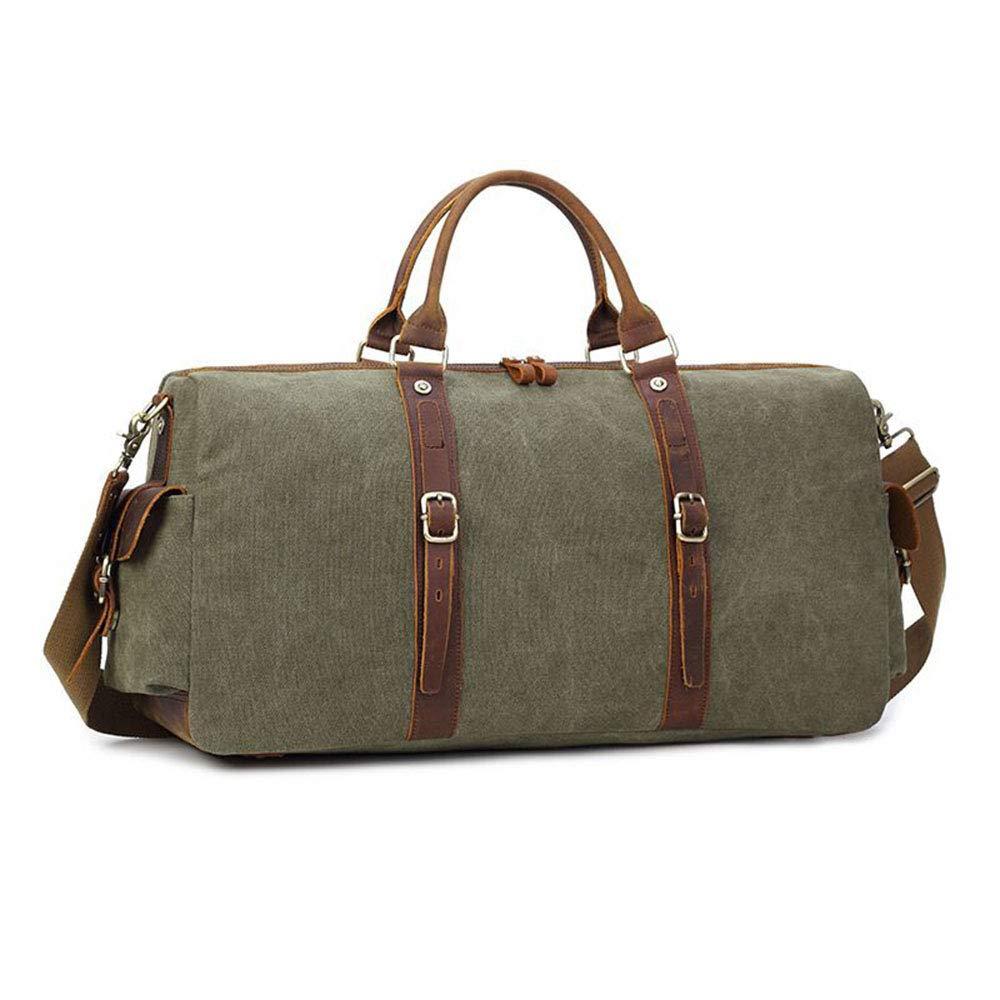 2db95e3a8e6f Amazon.com: Ybriefbag Unisex Canvas Large-Capacity Travel Bag Men's ...