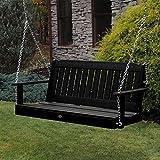 Highwood AD-PORL1-BKE Lehigh Porch Swing, 5