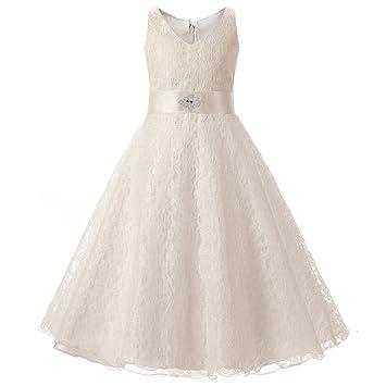 910c91087 prevently marca nueva alta calidad Fashion atractivo Sweet Cute Kids niña  vestido de princesa de encaje