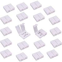 LitaElek 2 pin Conector de tira LED Conector rápido de luz de cinta LED Conector de LED Strip para tira LED SMD 5050…