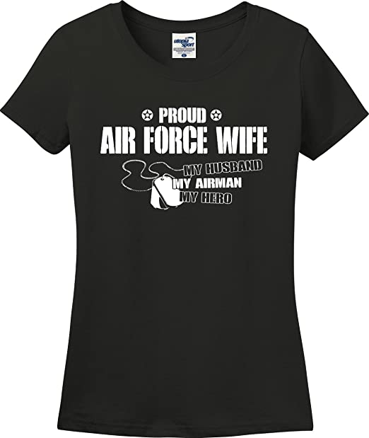 various kinds of luxury fashion variety of designs and colors Amazon.com: Utopia Sport Proud Air Force Wife My Husband ...