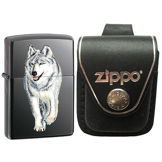 Zippo 769-GI946 - Reloj, correa de cuero