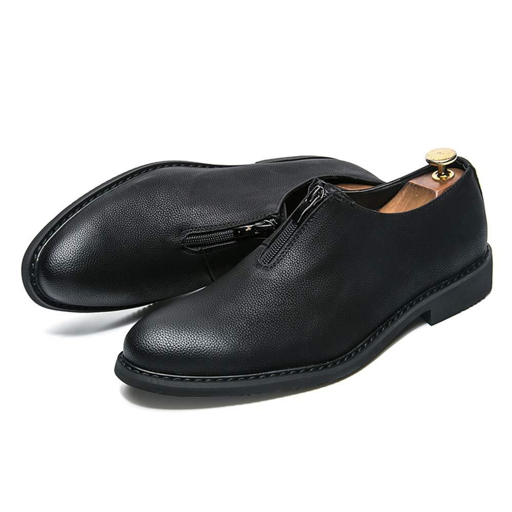 JIALUN-Scarpe Uomo Simple Business Oxford Scarpe da da da Ginnastica Classiche Traspiranti Classiche Inglesi 8b569f