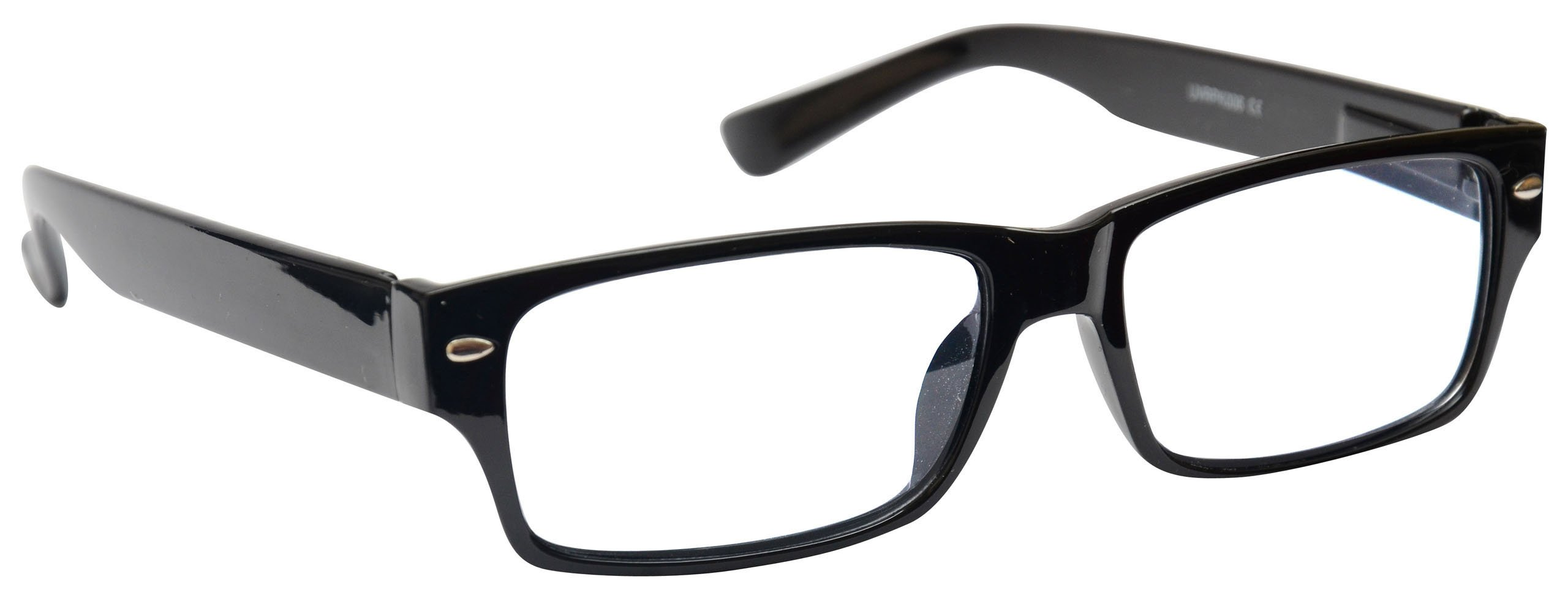 1e2877327b Black Near Short Sighted Distance Glasses for Myopia Mens Womens Spring  Hinges M6-1 -