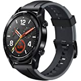 Huawei Watch GT Sport Rubber Strap, Graphite Black - FTN-B19