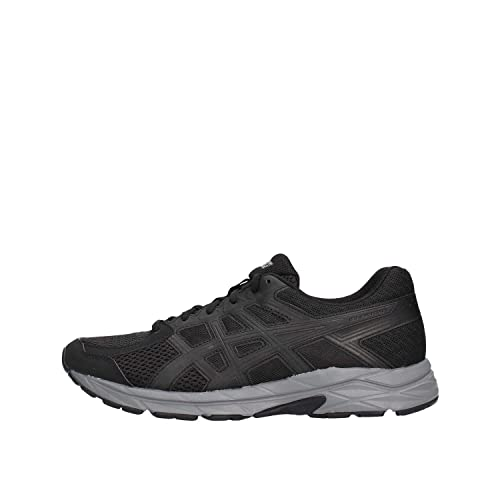 best authentic 63d05 6e922 ASICS Men s Gel-Contend 4 Running Shoes, (Black Dark Grey 002)