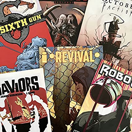 Amazon.com: Bolsa sorpresa: madura lectores cómic Pack: Toys ...