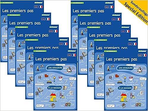 10x Mindmemo Lernfolder Les Premiers Pas Französisch Für