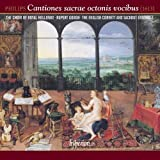 Philips: Cantiones sacrae octonis vocibus by Royal Holloway Choir, English Cornett and Sackbut Ensemble, Rupert Gough (2013-03-12)