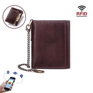 Monedero Inteligente RFID antirrobo antirrobo de los Hombres ...