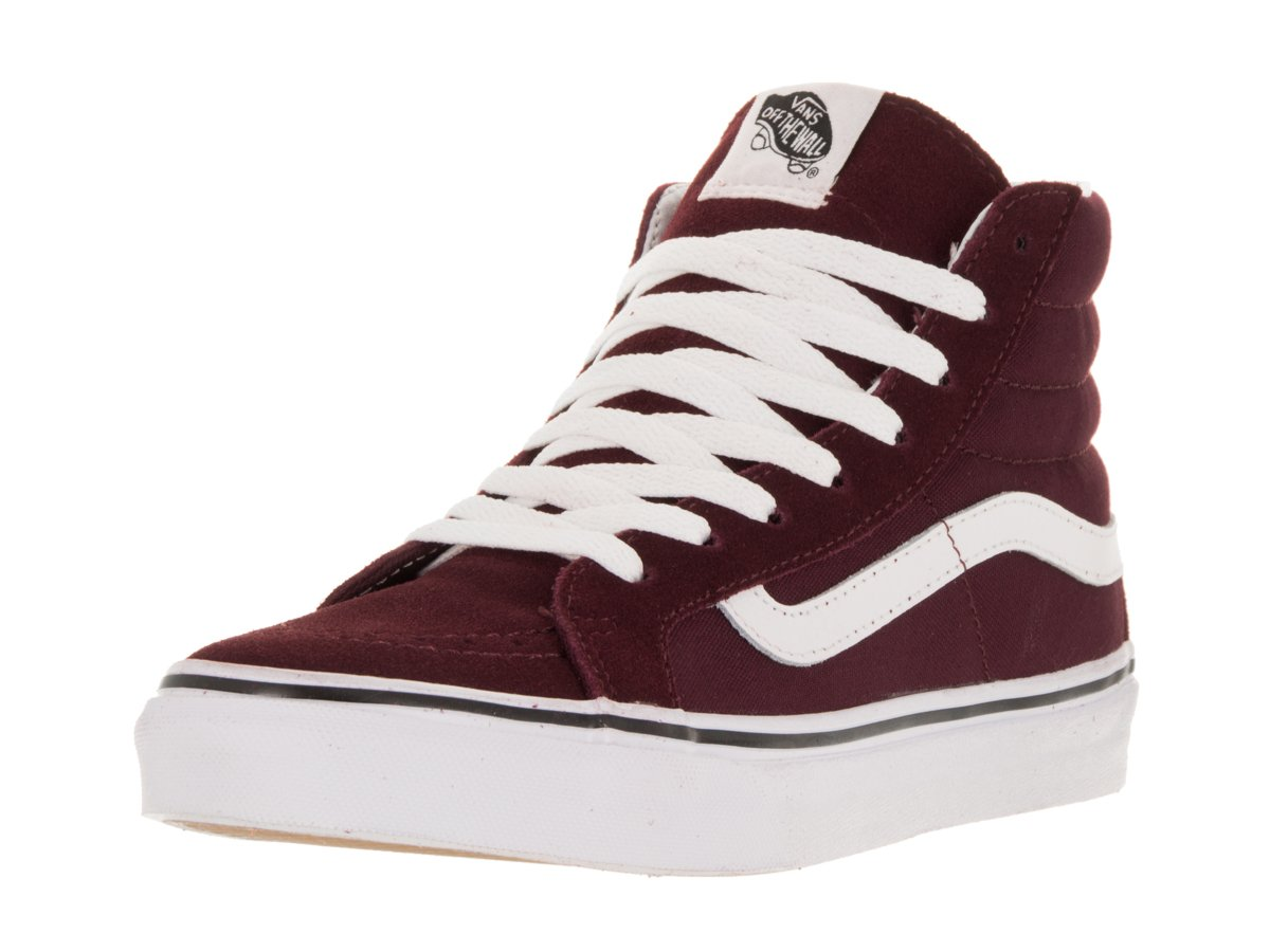 Vans Unisex Sk8-Hi Slim Women's Skate Shoe B00UK84LKM 7.5 M US Women / 6 M US Men|Windsor Wine