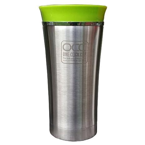 Vaso Termico - A Prueba de Fugas - 1 año de garantía - Un Clic, con una mano - Apto para lavavajillas travel mug - Vacuum-insulated acero inoxidable - ...