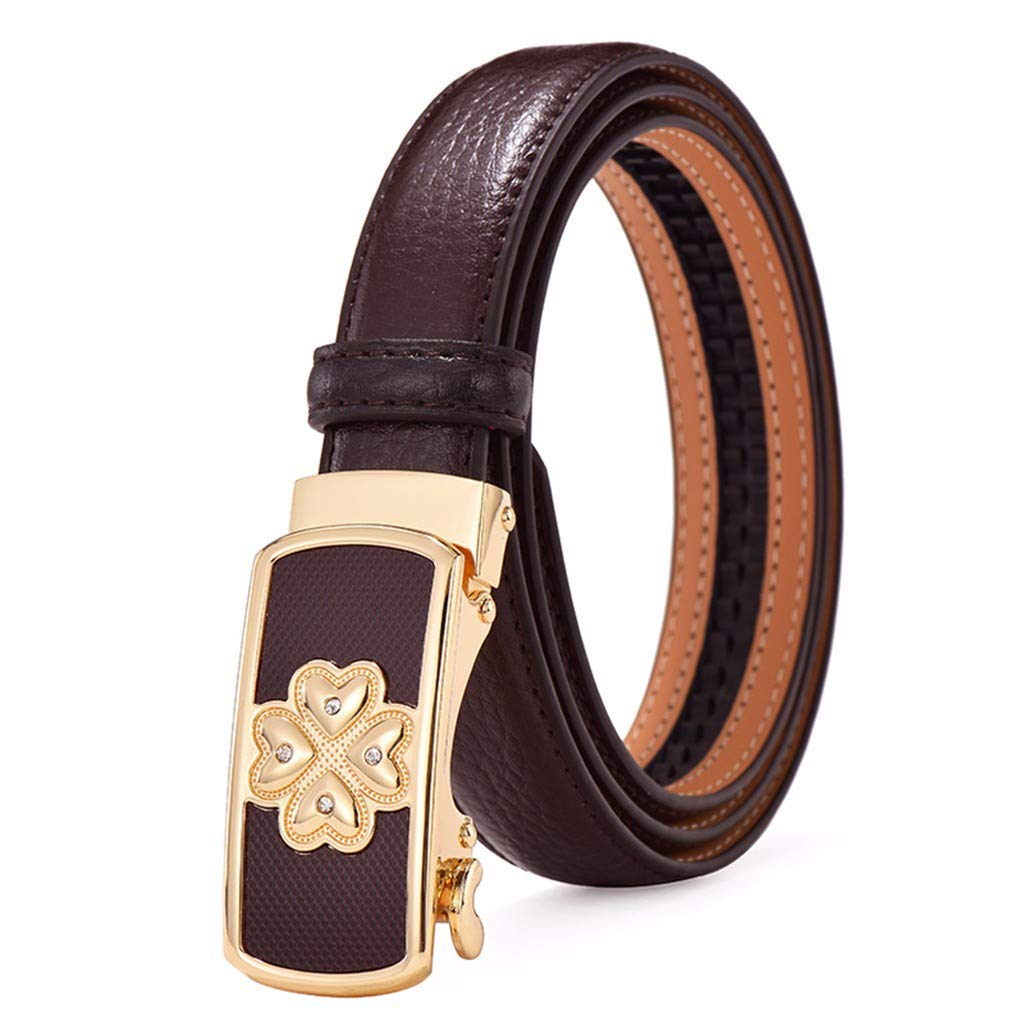 automatic buttons fine belts fashion decoration simple jeans belts. Ladies belts