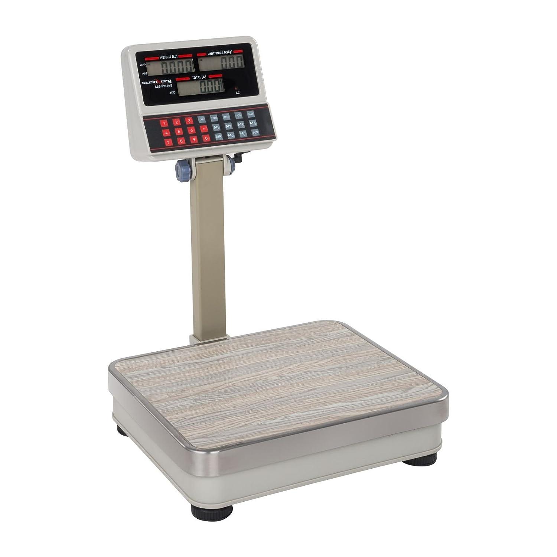5 g Balance Poids Prix Balance March/é Surface de pes/ée: 30 x 35 cm, 7 emplacements m/émoires, /Écran LCD Steinberg Systems SBS-PW-60//5 Balance Commerciale 60 kg