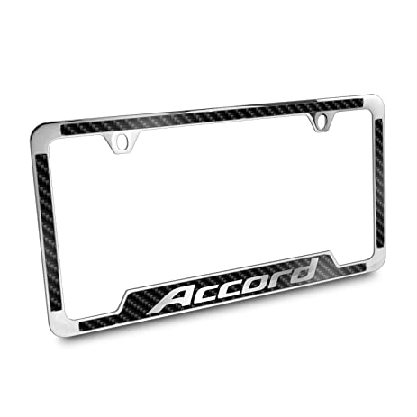 Amazon.com: Honda Accord Black Carbon Fiber Vinyl Insert 50 States ...
