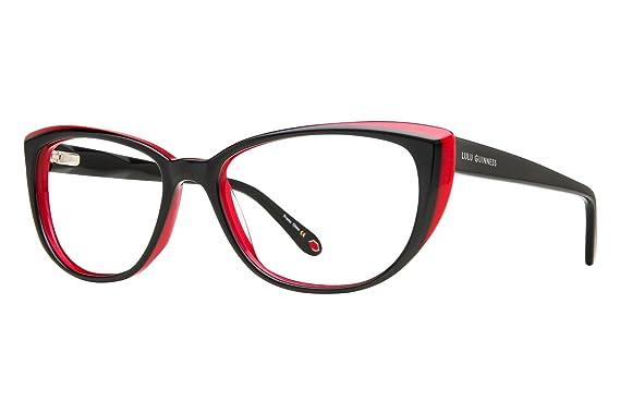 Amazon.com: Lulu Guinness L890 Womens Eyeglass Frames - Black: Clothing