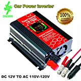 450 watt power inverter - ChaoMin Car Power Inverter 300W 500W 12V 110V/120V USB Port Phone for Vehicle Car Power Inverter Dc to AC Converter
