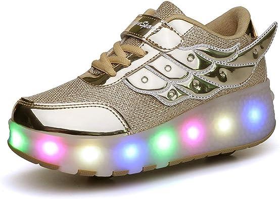 Girls Light up Roller Shoes